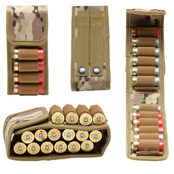 PINkart-USA Waterproof Anti-Corrosion 600D Nylon Bullets Package Hunting Shells Package Cs Field Portable
