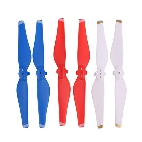PINkart-USA White 1 PAIR MAVIC AIR PROPELLER DRONE QUICK-RELEASE BLADE 5332 PROPS SPARE PARTS SPARE PARTS REPLACEMENT