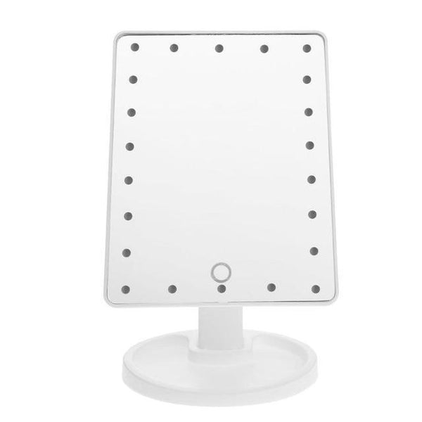 PINkart-USA White 22 LED Professional Led Touch Screen Makeup Mirror Luxury Mirror With 16/22 Led Lights 180 Degree