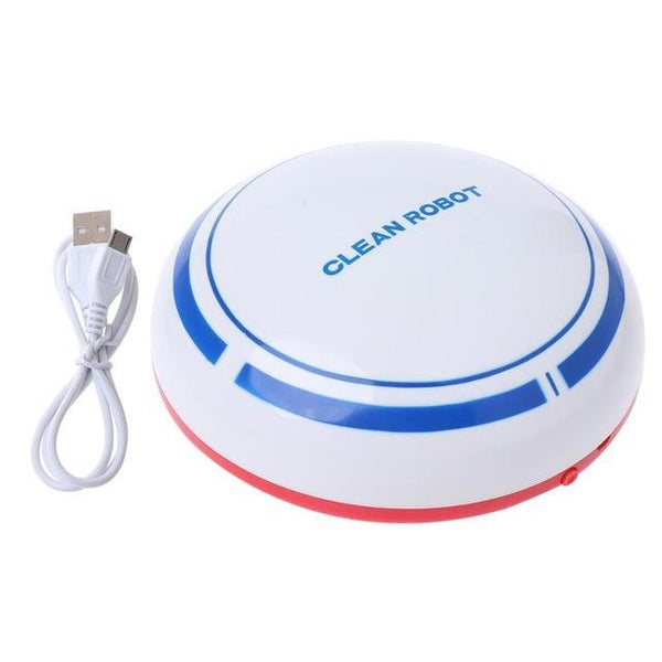 PINkart-USA White Energy-Saving Mini Wireless 5W Usb Automatic Usb Rechargeable Smart Robot Vacuum Mop Floor