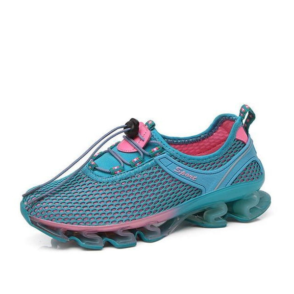 PINkart-USA Women Blue / 11 Brand 2018 Newest Running Shoes Cushioning Breathable Walking Jogging Outdoor Sport Male Sneakers