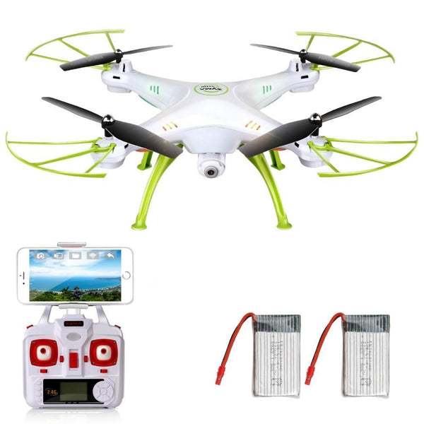 PINkart-USA X5Hw Drones With Camera Hd Wifi Fpv Rear Time Transmission Remote Control Quadrocopter Rc