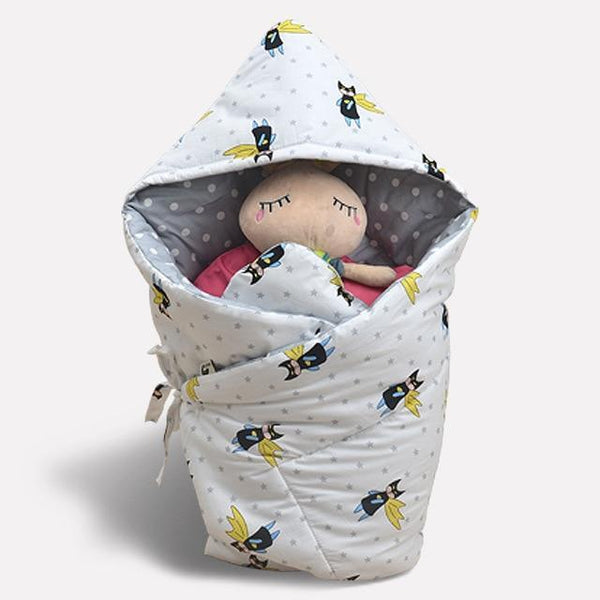 PINkart-USA xiaofeixia Anti-Dirty Cute Print Baby Sleeping Bag Envelope 1 Pcs Multi-Color Infant Born Sleepsacks 90*90Cm