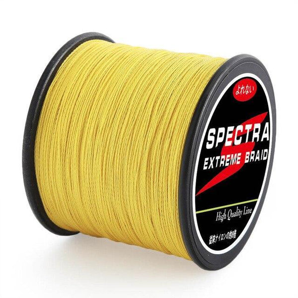 PINkart-USA Yellow / 0.10mm-10lb-4.53kg Hot Sale!Super 4 Strands Strong Japanese 300M Brand Multifilament Pe Braided Fishing Line 10 20