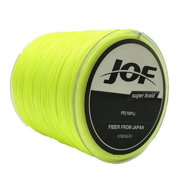 PINkart-USA Yellow / 1.0 8 Strands Weaves 500M Extrem Strong Japan Multifilament Pe 8 Braided Fishing Line 15 20 30 40 50 60