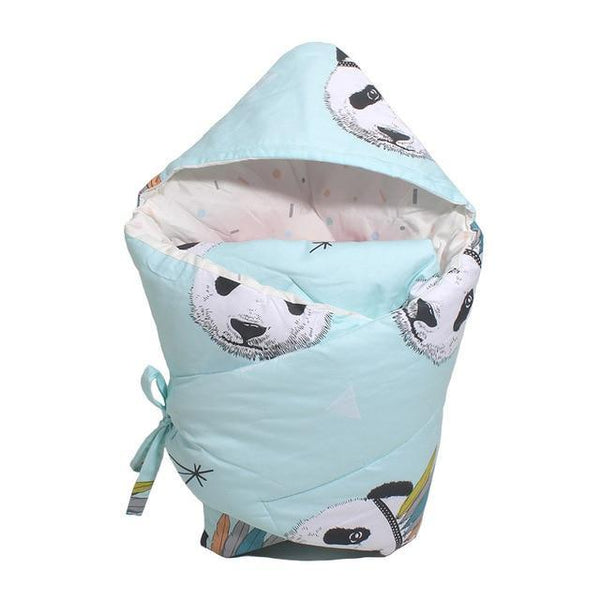 PINkart-USA yindianxiong Anti-Dirty Cute Print Baby Sleeping Bag Envelope 1 Pcs Multi-Color Infant Born Sleepsacks 90*90Cm