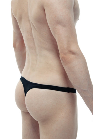 String Transparent Net  Noir - PetitQ Underwear