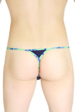 String Goutte d'eau Navy Splash