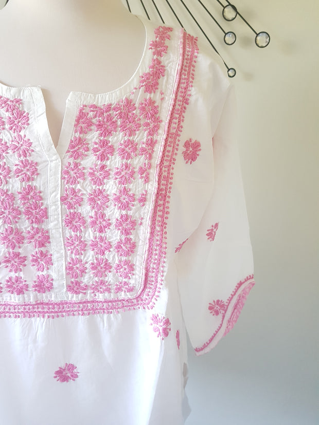 Hand Embroidered Short Shirt