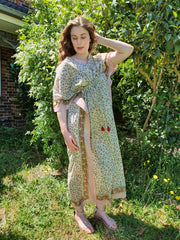 Chinar - Hand Block Print Long Kaftan