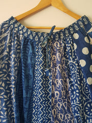 Gypsy Style Indian Cotton Hand Block Printed Skirt