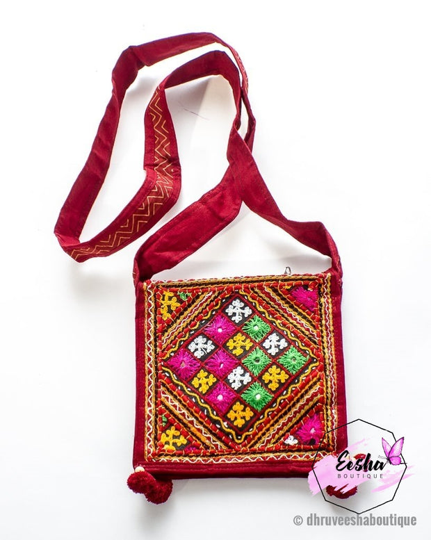 Banjara Pucca Embroidery Small Bag