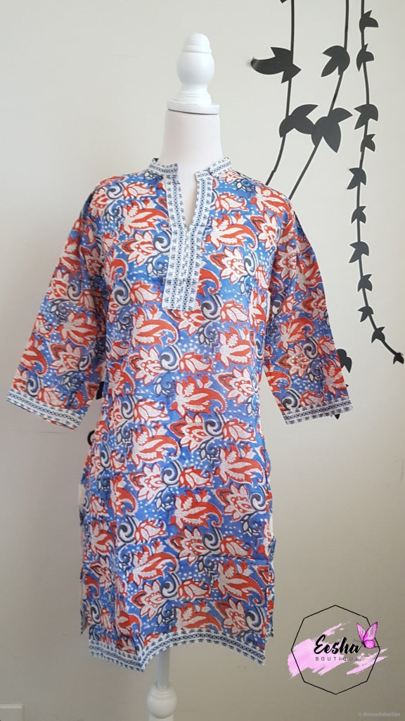 Cotton Hand Block Print Tunic