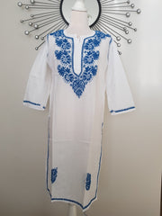 Green Hand Embroidered Tunic