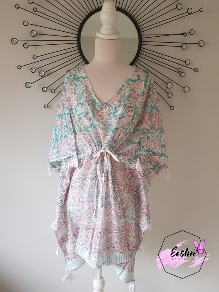 Short Kaftan - With Tussles
