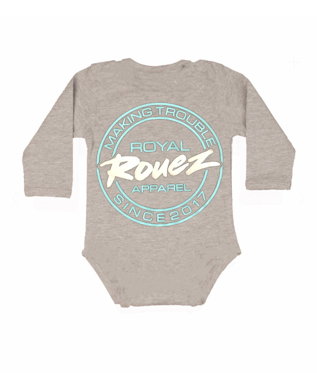 Royal Rouez - Grey Trouble Onsie