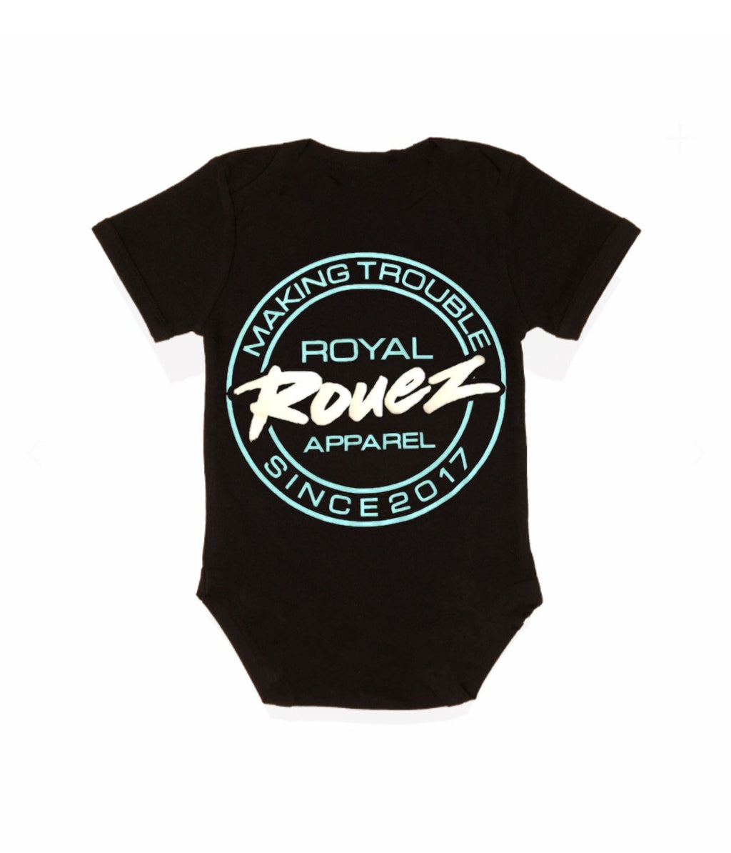Royal Rouez - Black Trouble Onsie