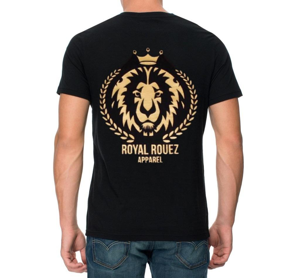 Royal Rouez - Mens Lion Head Tee