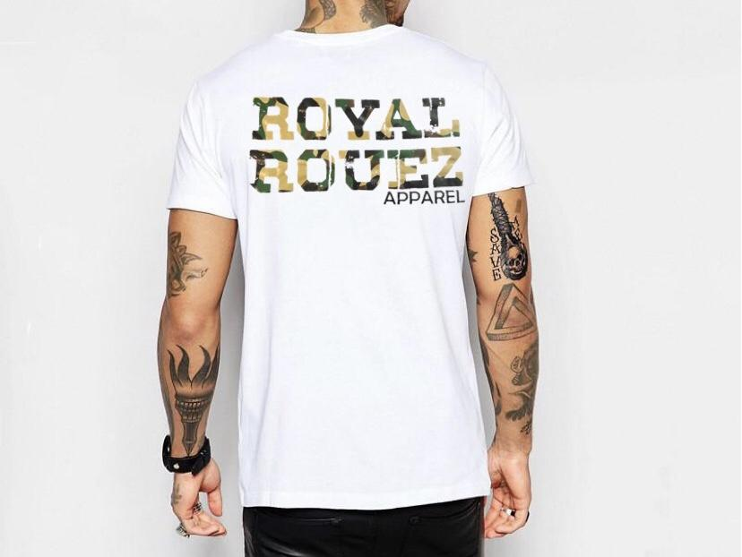 Royal Rouez - Mens Premium Camo Tee