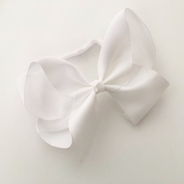 White KMH Bow - Inspired By Mya