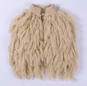 Shaggy Vest - 4 Colours