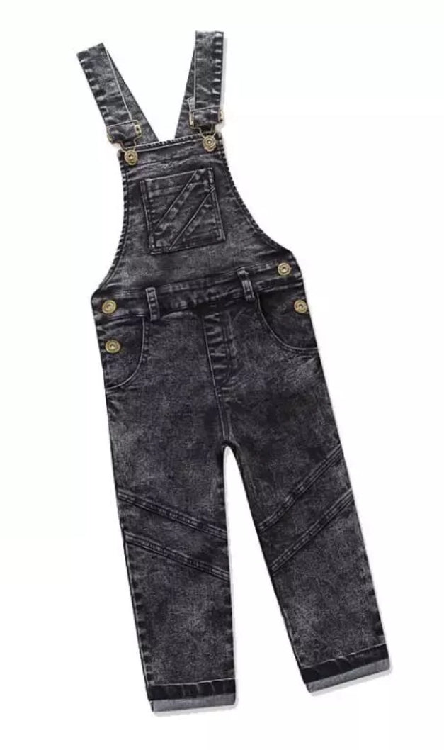 Denim Overalls - Long Length