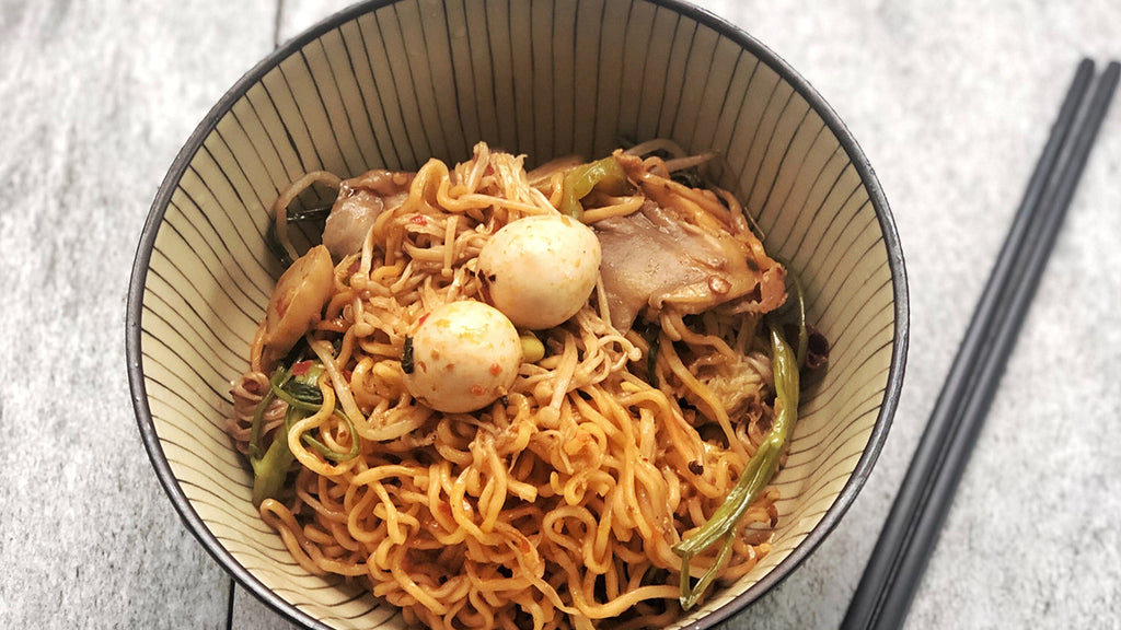 Stir-Fry Instant Noodles? Everything is Possible.