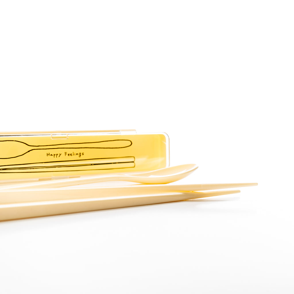 HF White Spoon & Chopstick Set