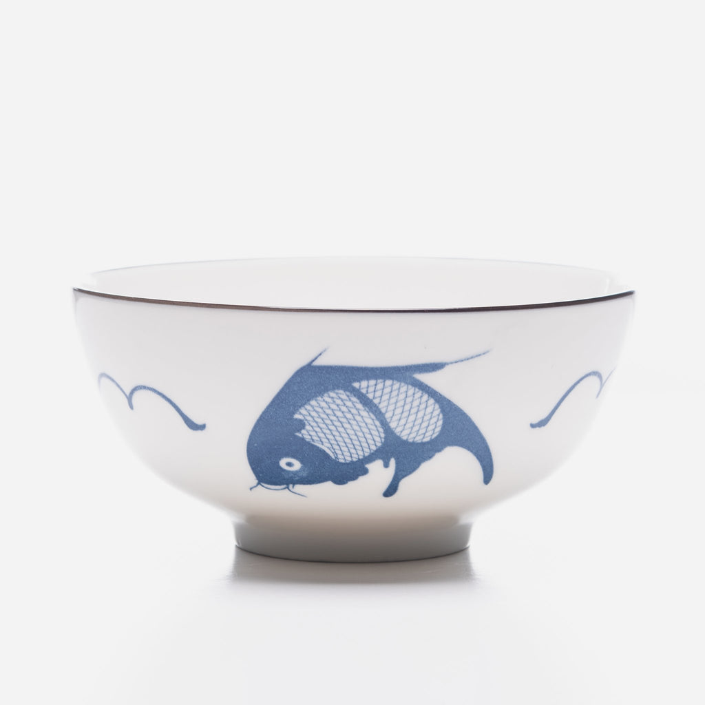 Blue Koi Bowl