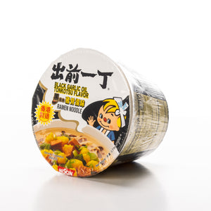 Nissin Black Garlic Oil Tonkotsu Noodle Soup Bowl
