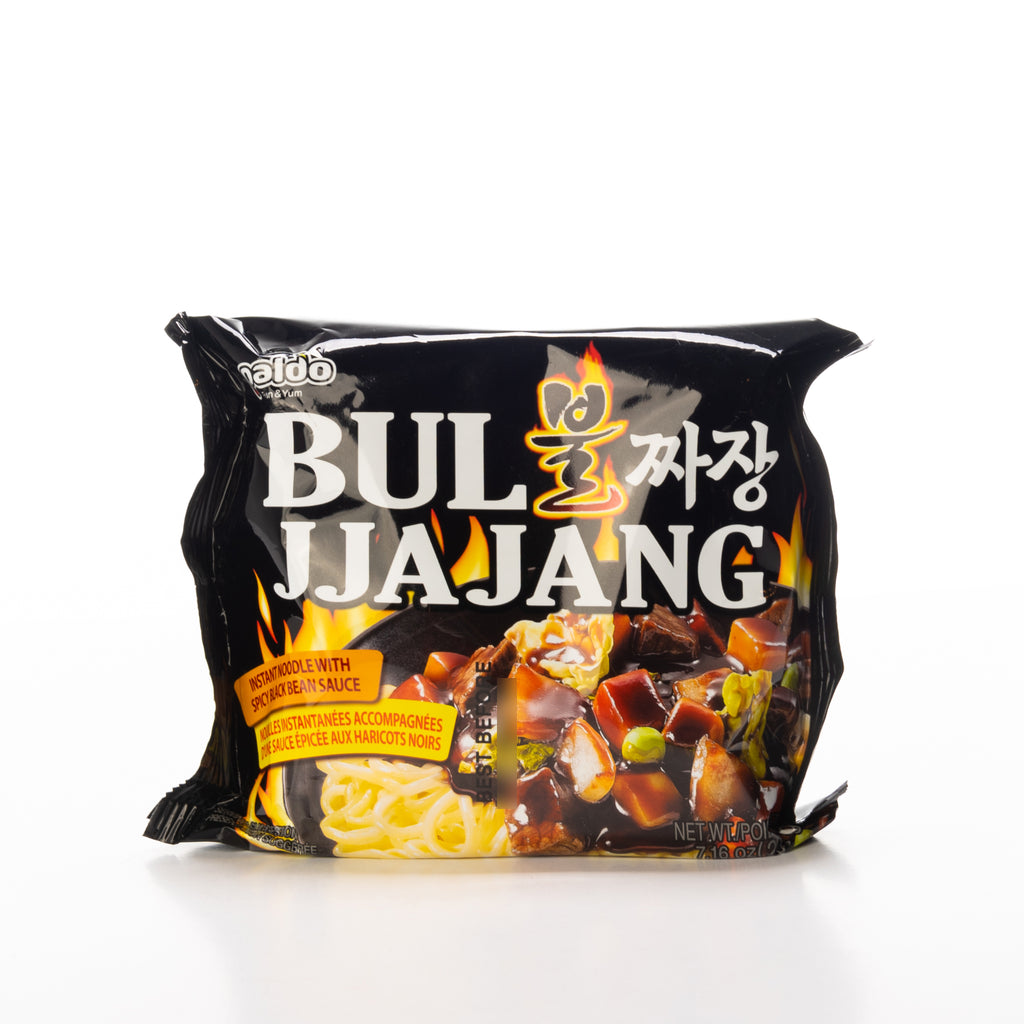 Paldo Bul Jjajang with Spicy Black Bean Sauce