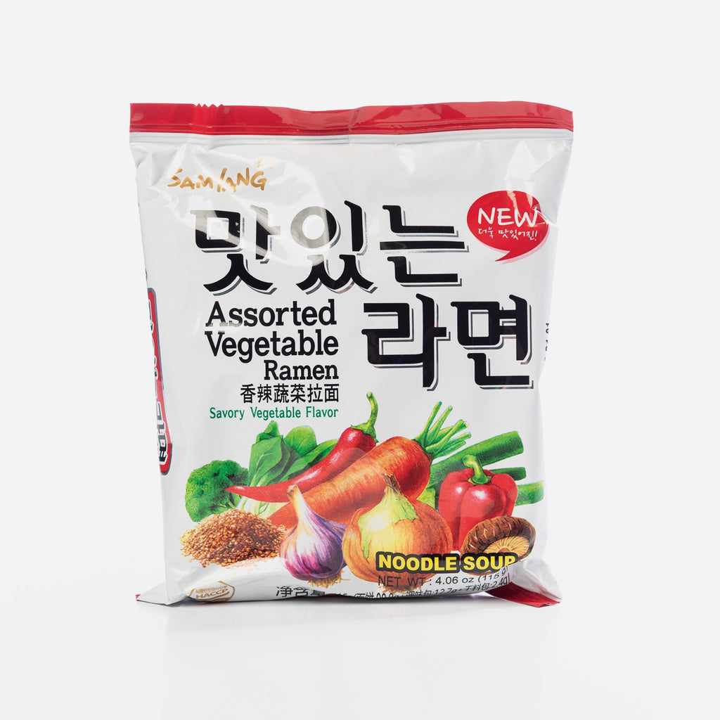 Samyang Assorted Vegetable Ramen
