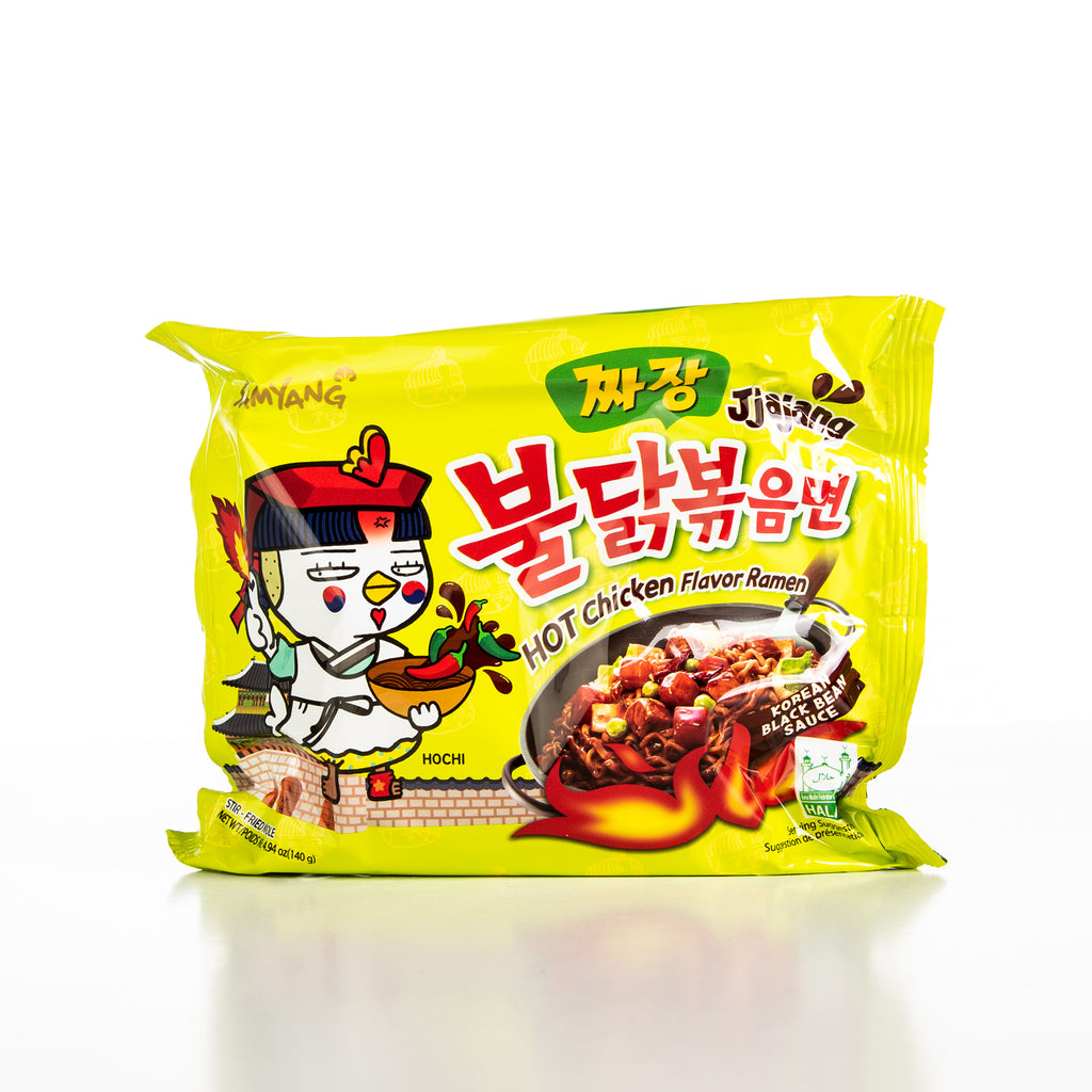 Samyang Hot Chicken Jjajang Black Bean Sauce Ramen