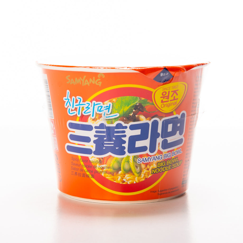 Samyang Original Spicy Noodle Soup Big Bowl