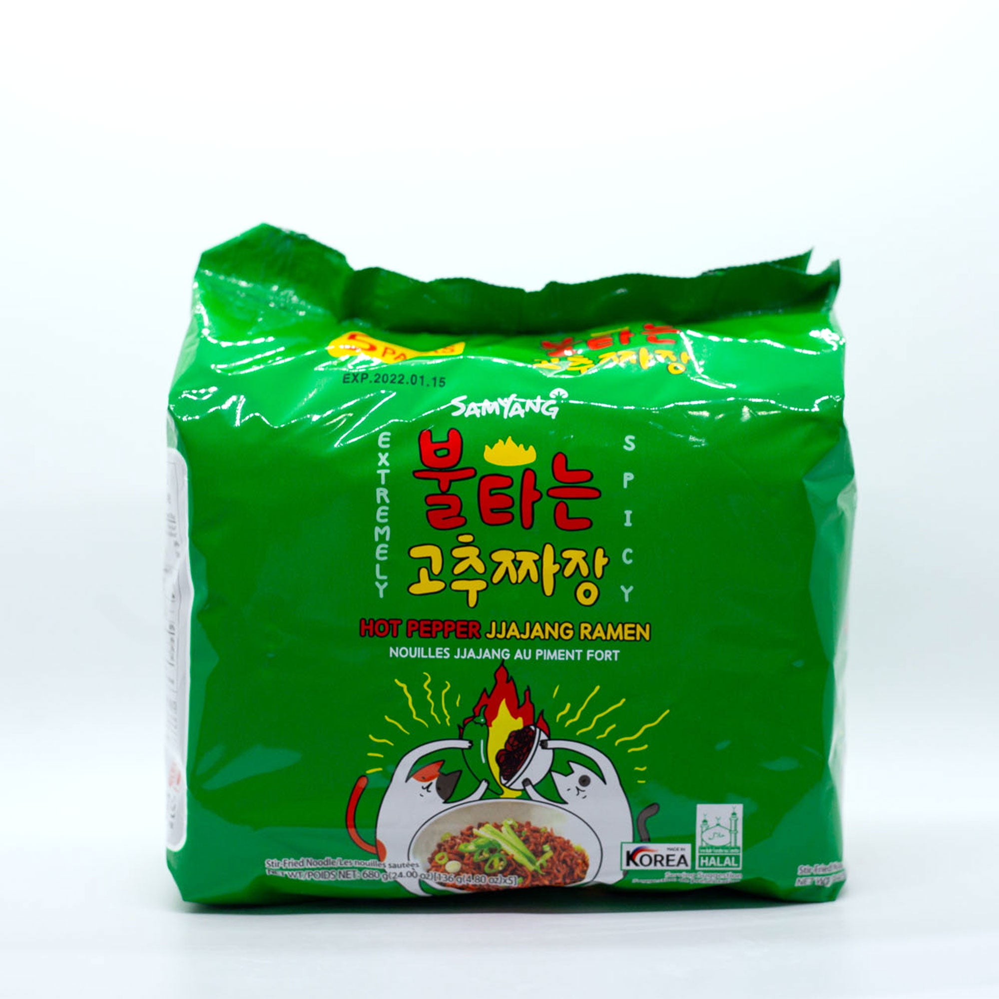 Samyang Hot Pepper Jjajang Noodle