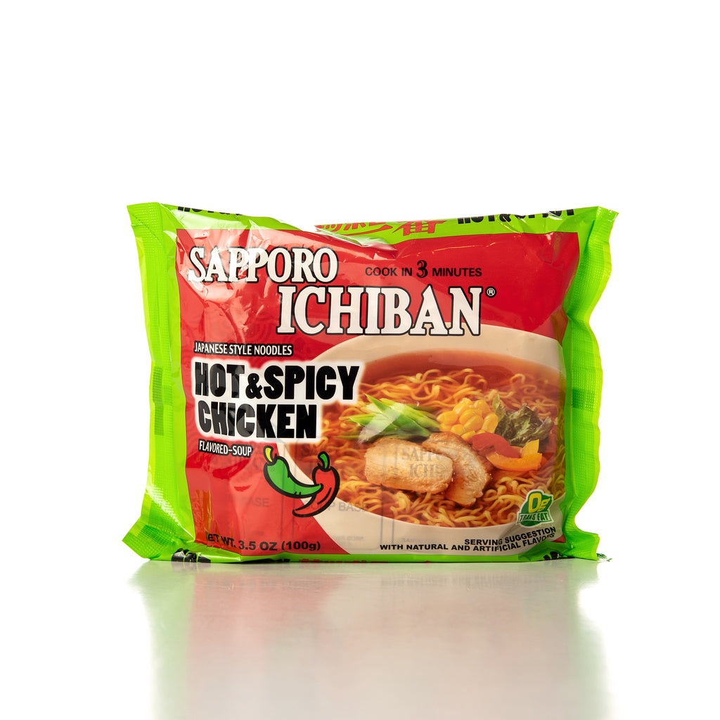 Sapporo Ichiban Hot & Spicy Chicken Noodle Soup