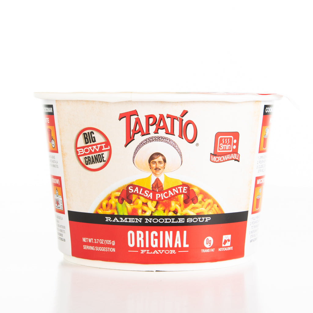 Tapatio Salsa Picante Original Big Bowl Ramen Noodle Soup