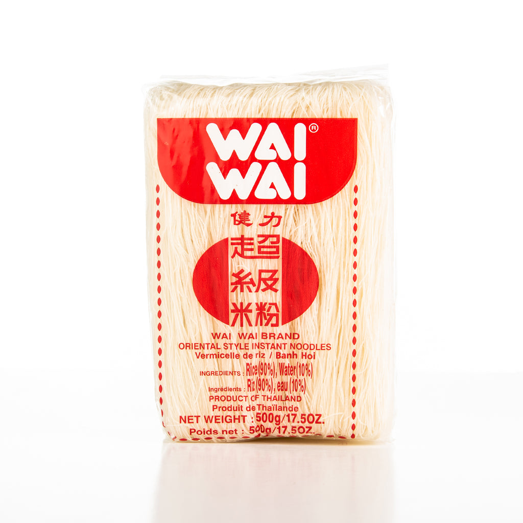Wai Wai Oriental Style Rice Vermicelli Noodles
