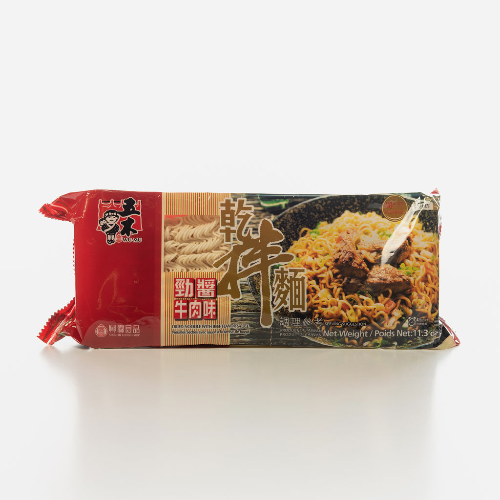 Wu-Mu Dried Noodle with Beef Sauce