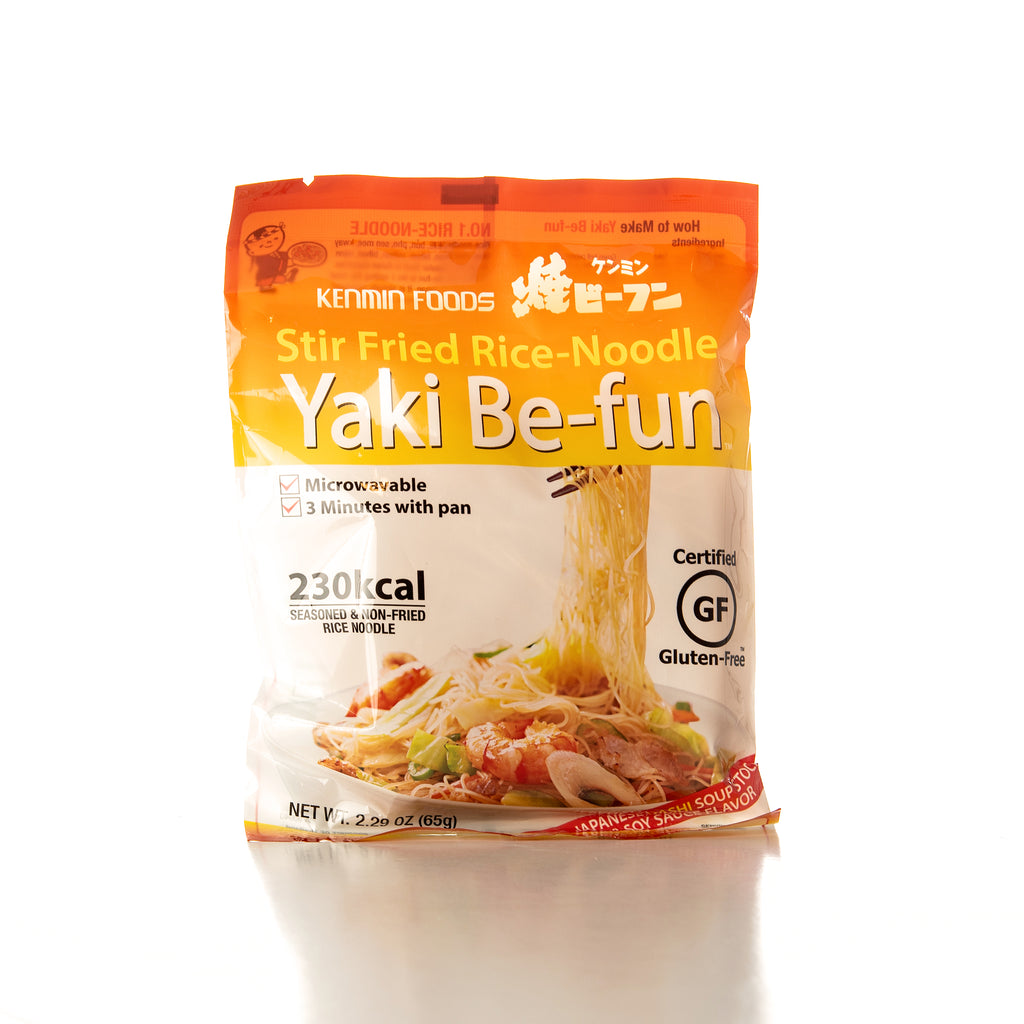 Kenmin Yaki Be-fun Dashi and Soy Sauce Stir Fried Rice Noodle