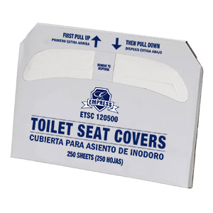 Toilet Seat Cover Half-Fold 250 Sheets - Raemart