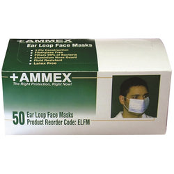 Ear Loop Face Masks (Case of 600) - Raemart