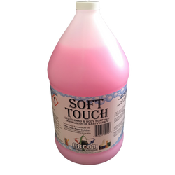 Soft Touch Liquid Hand & Body Soap (Case of 4 Gallons) - Raemart