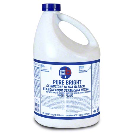KIK Pure Bright Germicidal Ultra Bleach 6% 1 Gallon / 6 per case - Raemart