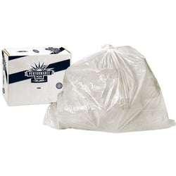 Trash Bags 60 Gallons Clear .55 Mil (Case of 200) - Raemart