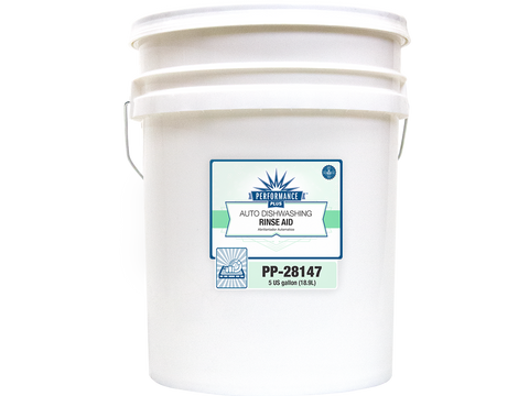 Performance Plus Auto Dishwasher Rinse Aid for Low Temp Machines - 5 Gallon Pail - Raemart