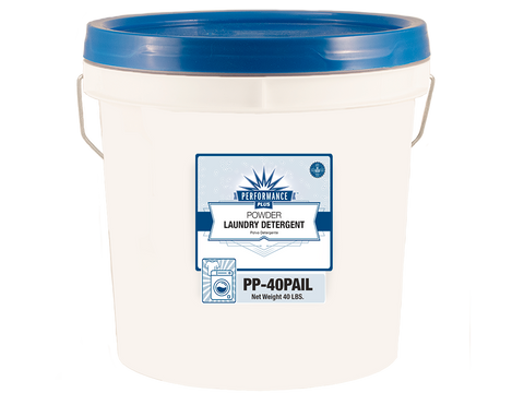 Performance Plus Powdered HE Laundry Detergent 40 lbs. pail - Raemart