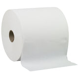 "Livi 8"" White Hardwound Paper Towel 800 ft. (Case of 6 Rolls) - Raemart"