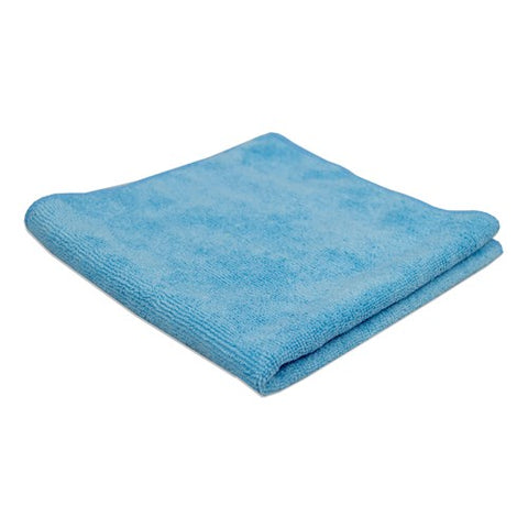 Microfiber Towels in Blue Color (Pack of 12 Towels) - Raemart