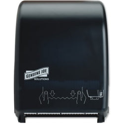 Genuine Joe Solutions Touchless Hardwound Towel Dispenser - Raemart